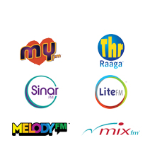 Malaysian radio channels by Astro